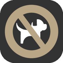 Haustiere sind nicht erlaubt